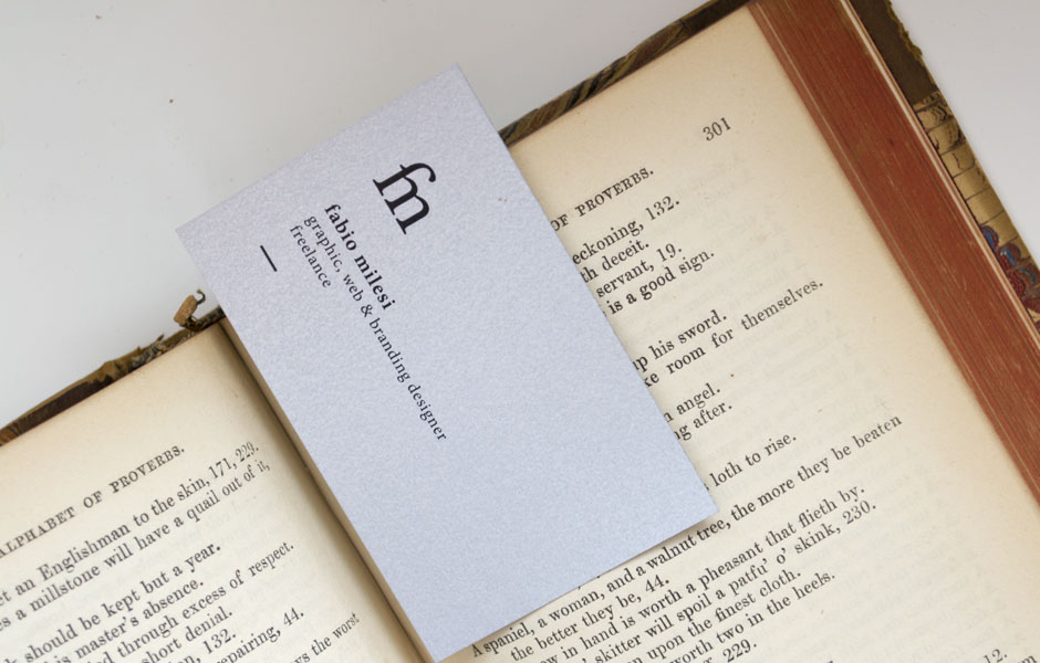 book businesscard black white fabio milesi inspiration work job portfolio pictures foto pic
