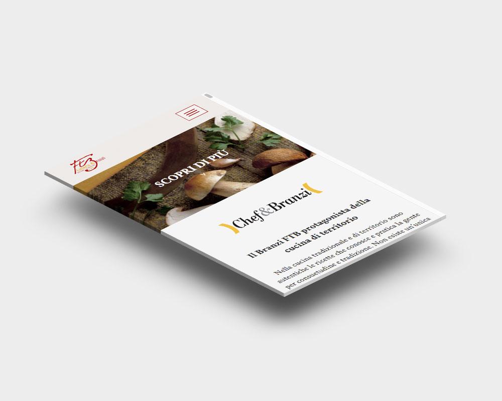 latteria branzi chef website sito web responsive design latte milk eccellenza casearia dairy excellence products cheese
