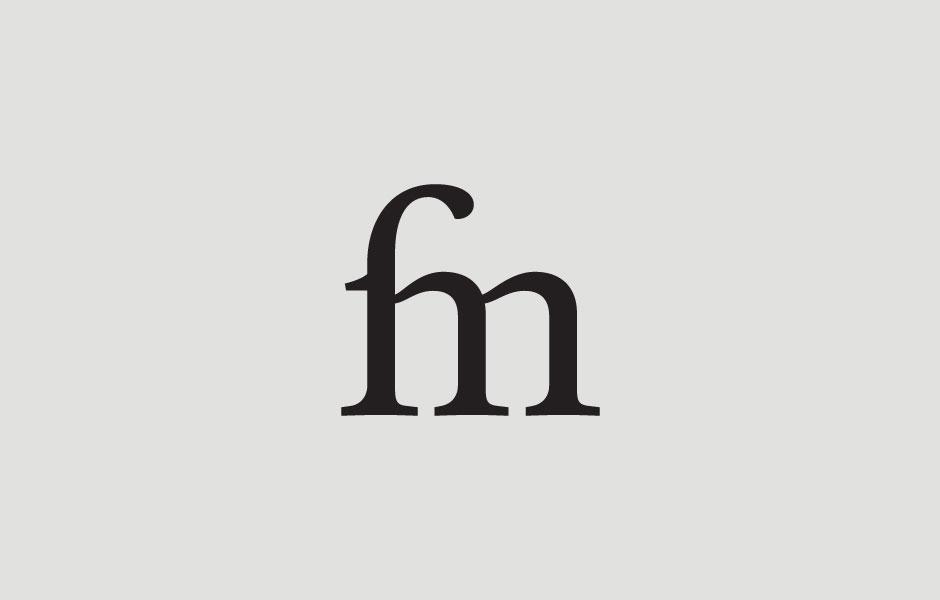 paper logo mockup fabio milesi branding self design monogram ligatures designer italiano bergamo italy graphic elegant elegante