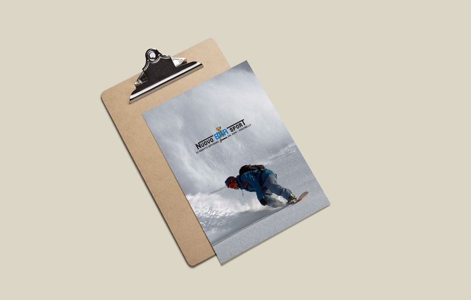 menu bar sport nuovo mockup pub beer snowboard snow winter mood pic