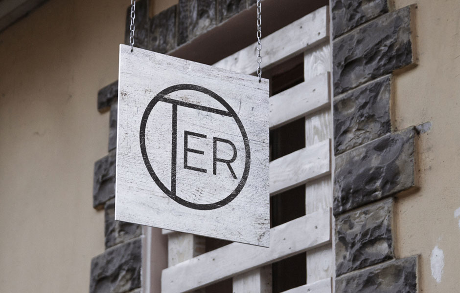 signage sign inspiration oter circle logo design graphic branding mockup wood valbrembana sanpellegrino casino bergamo milano italy