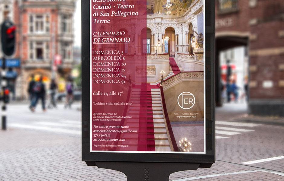 street poster oter casinò design pic mockup sanpellegrino milano bergamo tourists water liberty art nouveau terme europe calendario
