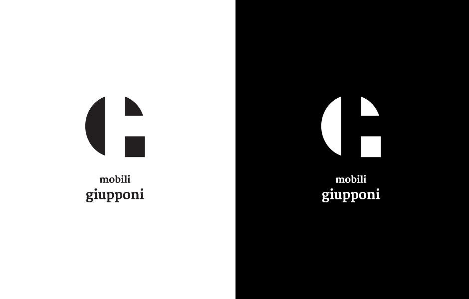 businesscards wood wooden mobili giupponi mobilificio craft mockup vertical version logo black white minimal simple